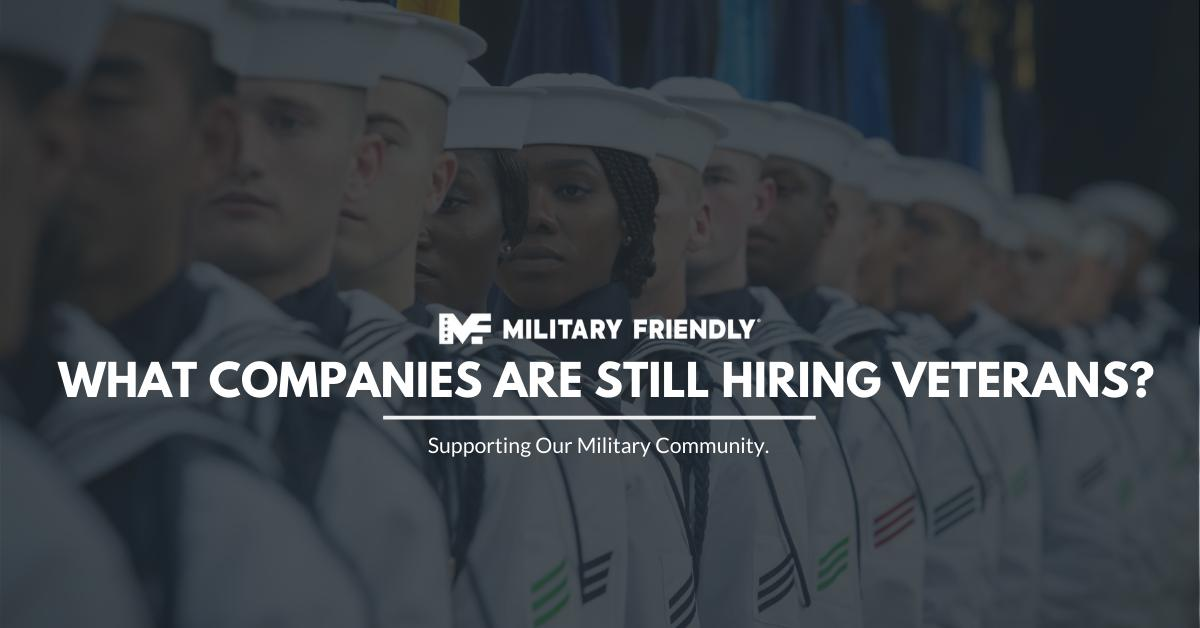 Companies Hiring Veterans
